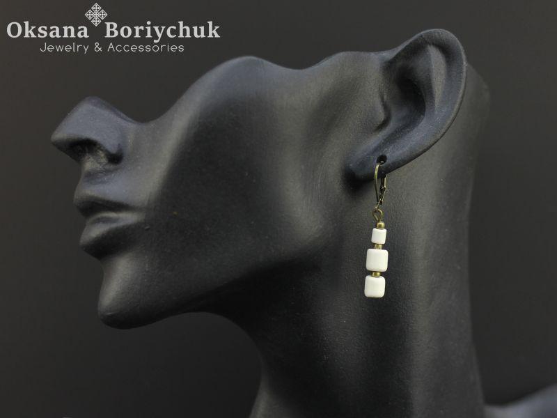 """Ожерелье """"Вышитая традиция""""  Бусины ручной работы из б Борийчук Оксана - фото 2"""