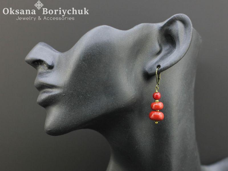 """Ожерелье """"Преданная традициям""""  Бусины ручной работы из б Борийчук Оксана - фото 2"""