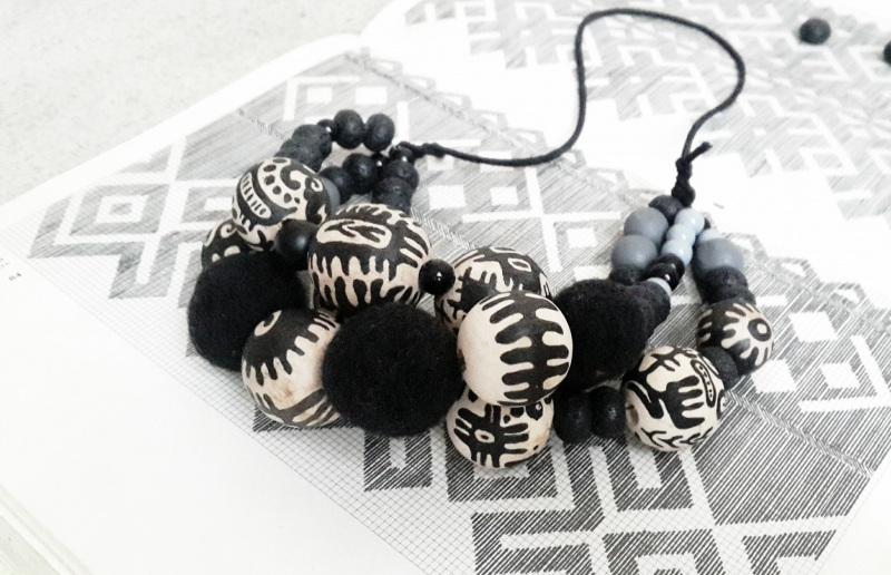 Праздничное/Пасхальное Черно-белый деревянные художественно Куртяк Любовь - фото 3