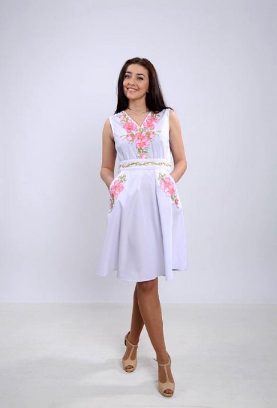 Платье Ч 7265 Белый бавовна Chichka - фото 1