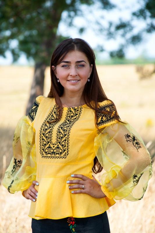 Рубашка Ч 7139 Желтый 100% хлопок Chichka - фото 1