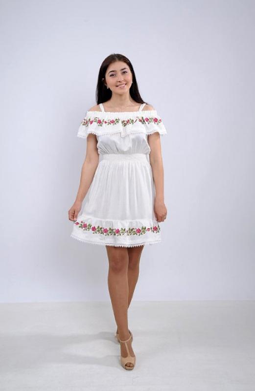 Платье Ч 7264 Белый штапель Chichka - фото 1