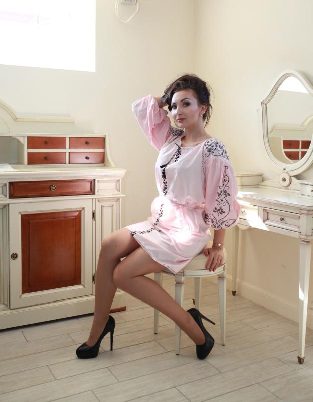 Платье Ч 7120 Розовый 100% хлопок Chichka - фото 1