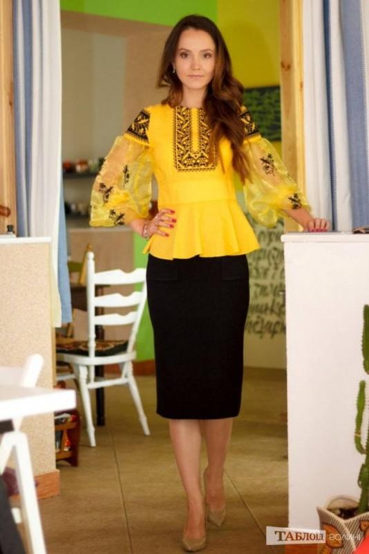 Рубашка Ч 7139 Желтый 100% хлопок Chichka - фото 6