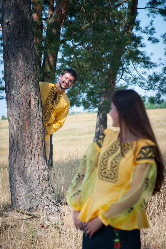 Рубашка Ч 7139 Желтый 100% хлопок Chichka - фото 5