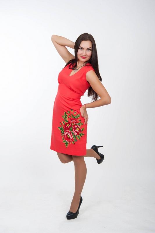 Платье Ч 7076 Черный 100% лен Chichka - фото 2