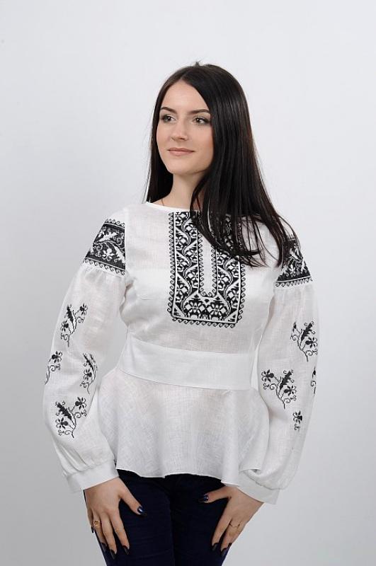 Рубашка Ч 7231 Белый 100% лен Chichka - фото 6