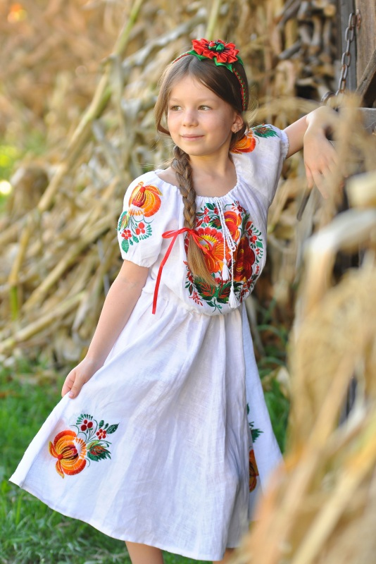 Платье Ч 7194 Белый 100% лен Chichka - фото 4