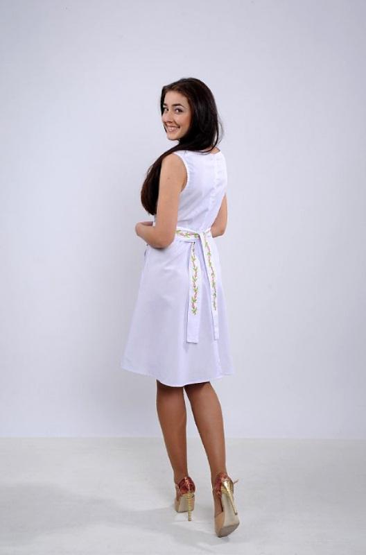Платье Ч 7265 Белый бавовна Chichka - фото 2
