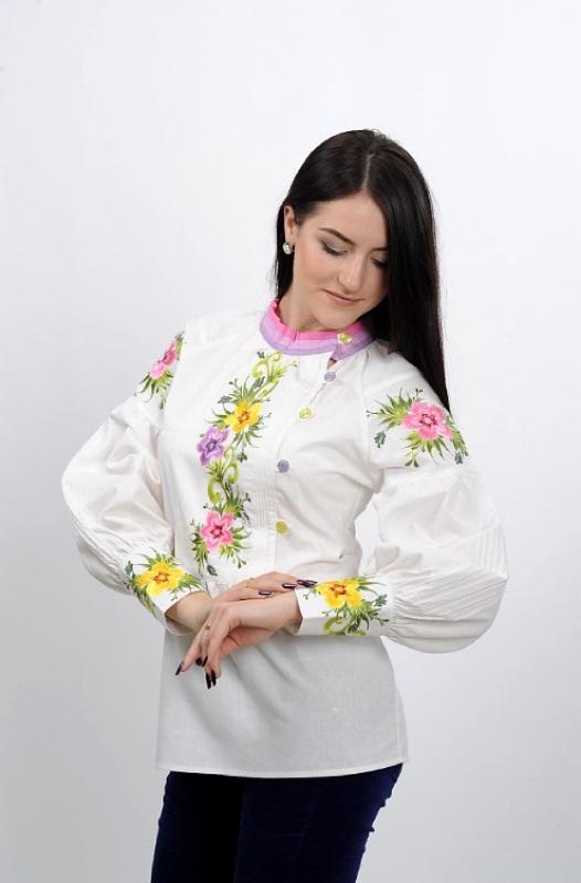 Рубашка Ч 7267 Белый 100% хлопок Chichka - фото 1