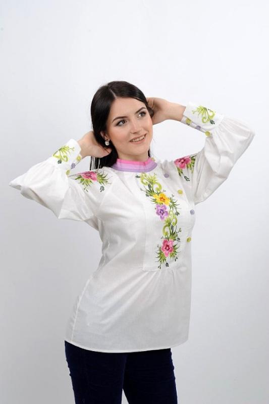 Рубашка Ч 7267 Белый 100% хлопок Chichka - фото 2