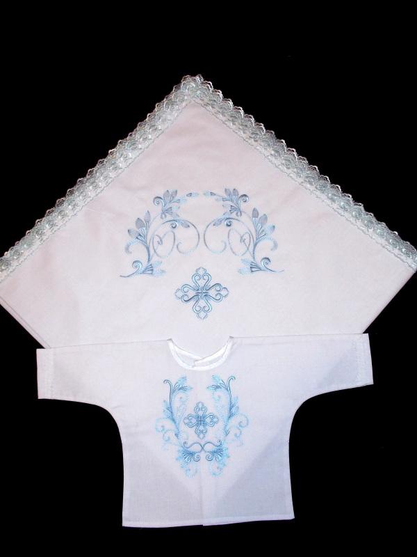 Набор для крещения №4  100% хлопок Chichka - фото 1