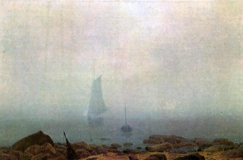 Туман  печать на холсте, натянут Фридрих Каспар - фото 1