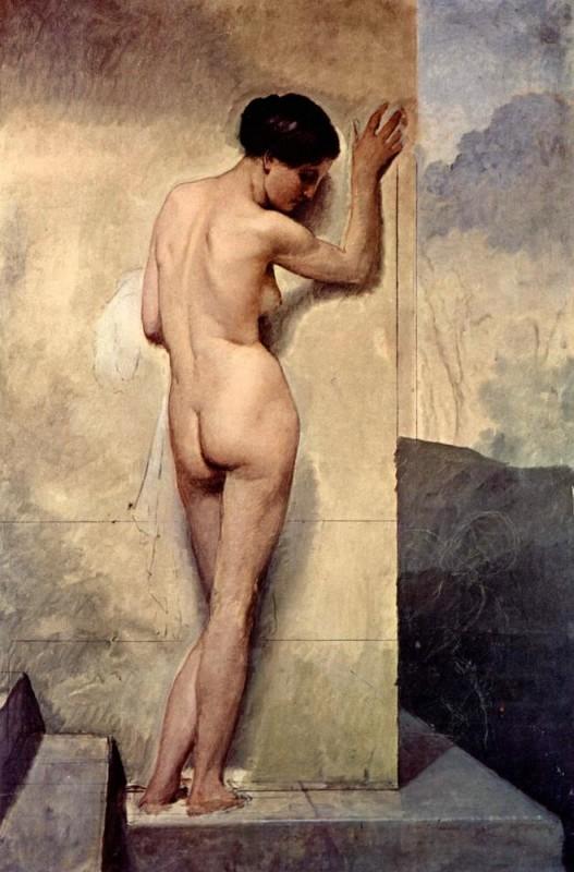 Обнаженная  печать на холсте, натянут Хайес Франческо - фото 1