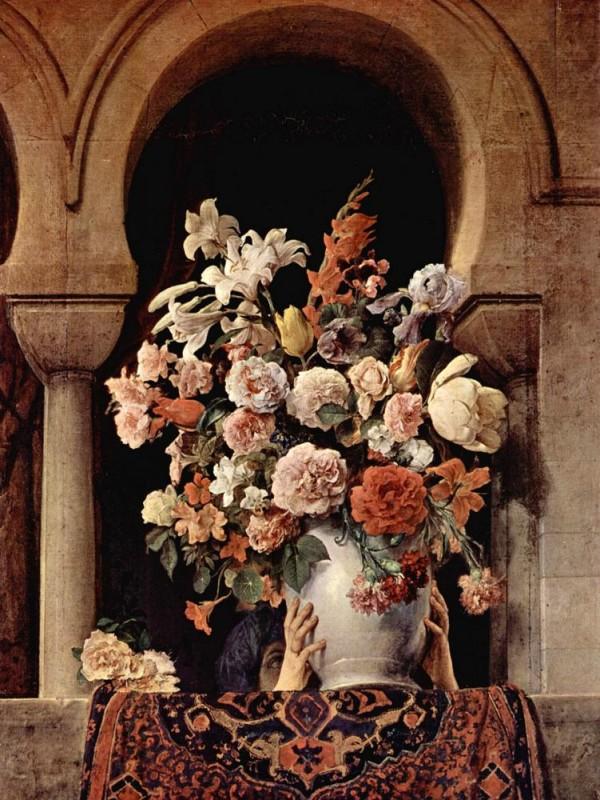 Окно гарема  печать на холсте, натянут Хайес Франческо - фото 1
