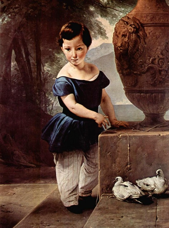 Портрет дона Джулио Вигони  печать на холсте, натянут Хайес Франческо - фото 1