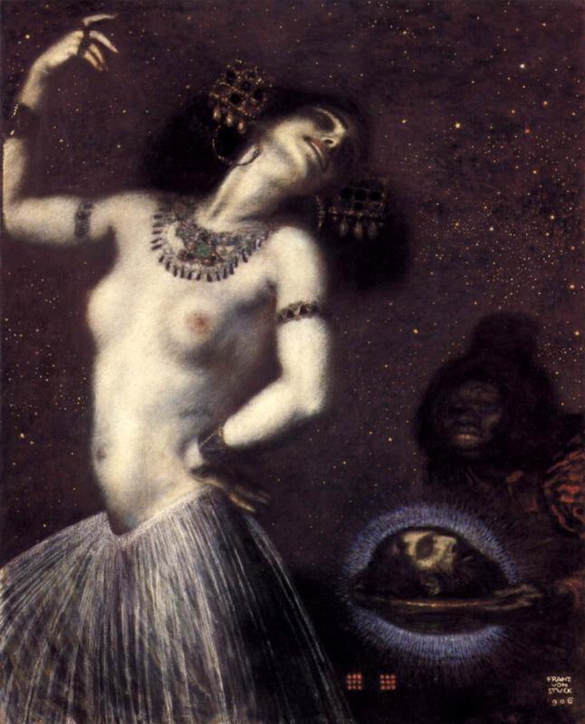 Саломея  печать на холсте, натянут Штук Франц фон - фото 1