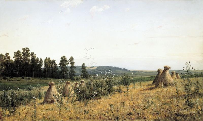 Полесье  печать на холсте, натянут Шишкин Иван - фото 1