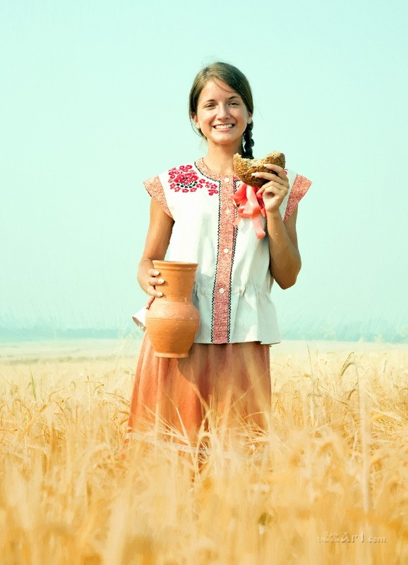 Богатый урожай  печать на холсте, натянут UkrainArt - фото 1