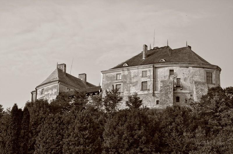 Замок в Олесько  печать на холсте, натянут UkrainArt - фото 1
