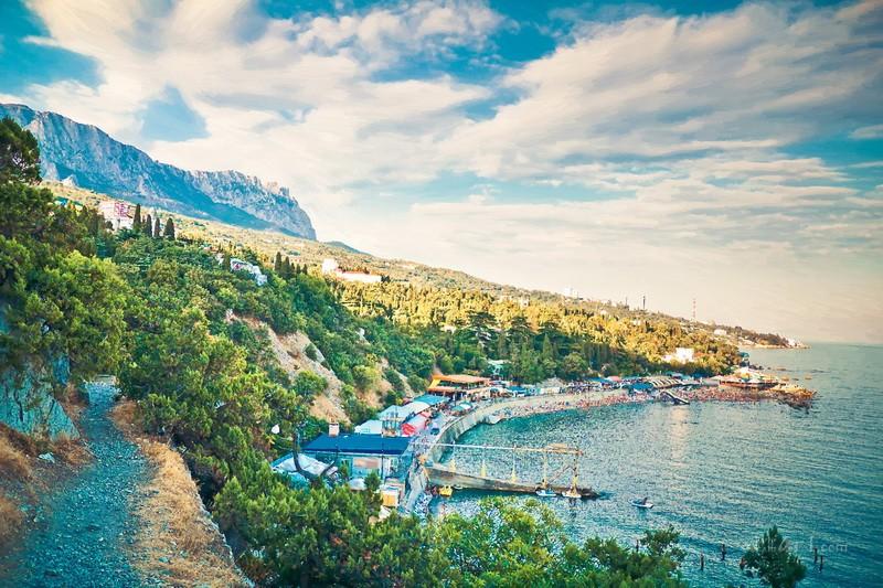 Крым  печать на холсте, натянут UkrainArt - фото 1