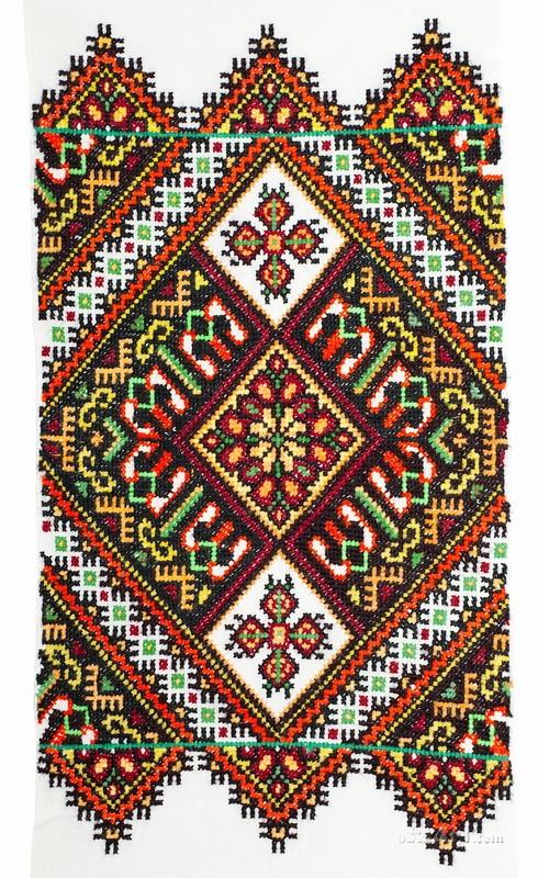 Украинская вышивка  печать на холсте, натянут UkrainArt - фото 1
