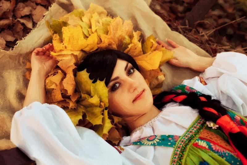 Украинская красота  печать на холсте, натянут UkrainArt - фото 1