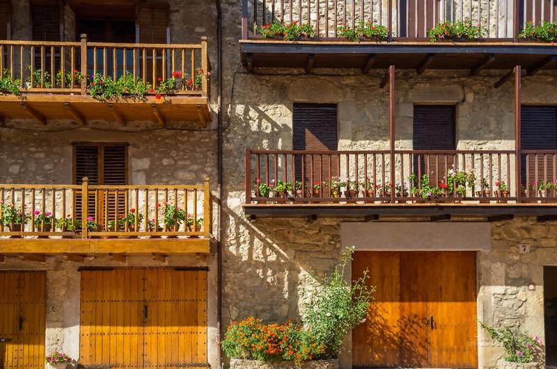 Балконы  печать на холсте, натянут UkrainArt - фото 1