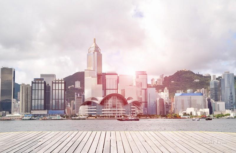 Гонконг  печать на холсте, натянут UkrainArt - фото 1