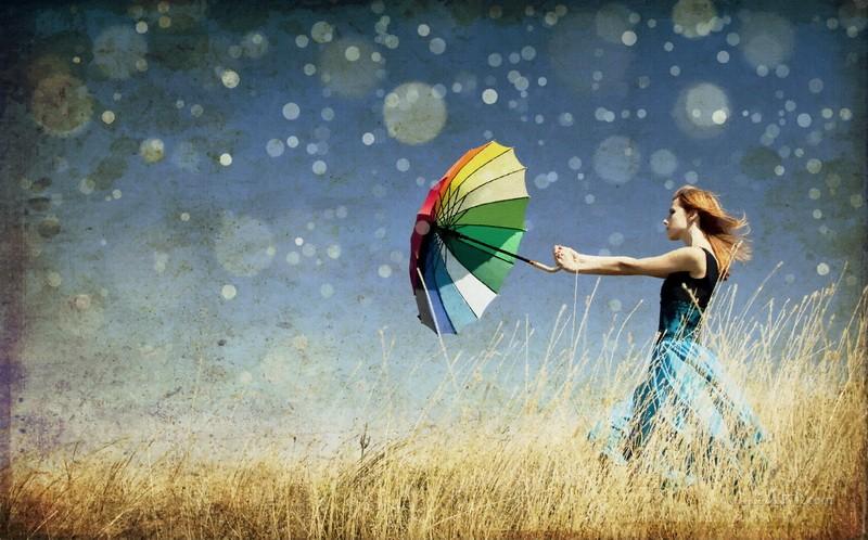 С ветром  печать на холсте, натянут UkrainArt - фото 1