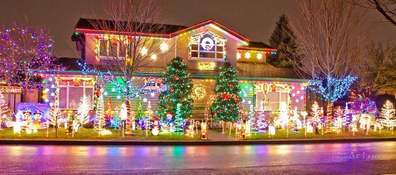 На Рождество  печать на холсте, натянут UkrainArt - фото 1
