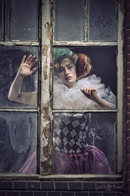 Взгляд через окно  печать на холсте, натянут UkrainArt - фото 1