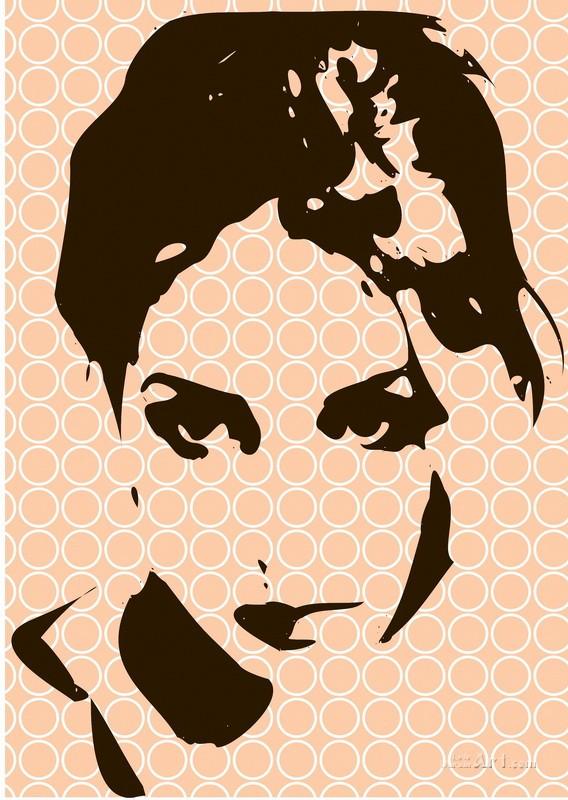 Портрет девушки  печать на холсте, натянут UkrainArt - фото 1