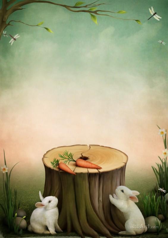 Морковка  печать на холсте, натянут UkrainArt - фото 1