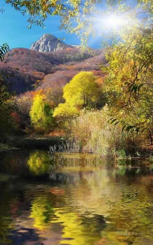 Пейзаж  печать на холсте, натянут UkrainArt - фото 1