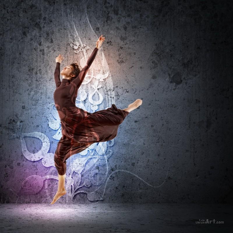 Танец  печать на холсте, натянут UkrainArt - фото 1