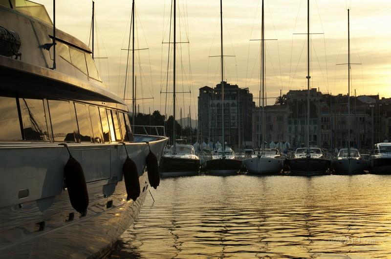 Яхты  печать на холсте, натянут UkrainArt - фото 1