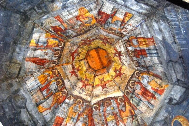 Роспись старинной церкви в Дрогобыче  печать на холсте, натянут UkrainArt - фото 1