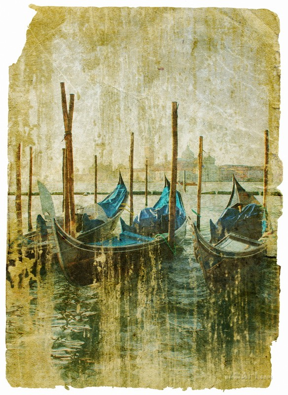 Венеция  печать на холсте, натянут UkrainArt - фото 1