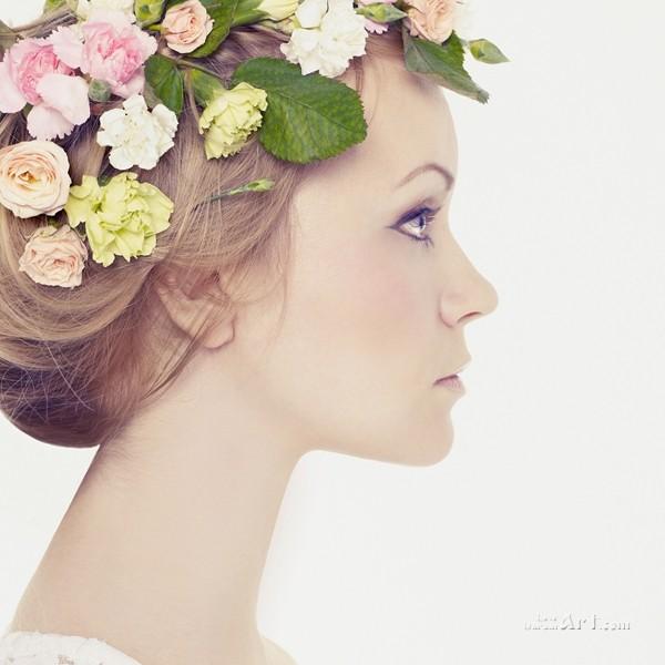 Девушка-весна  печать на холсте, натянут UkrainArt - фото 1