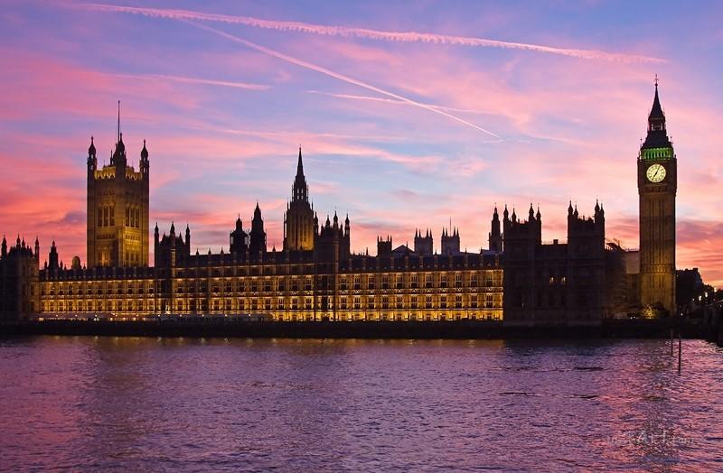 Лондон  печать на холсте, натянут UkrainArt - фото 1