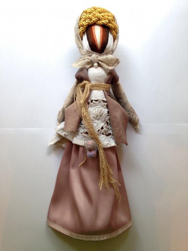 Кукла-мотанка №6  Ткани, нитки для вышивани Мазурок Елена - фото 1