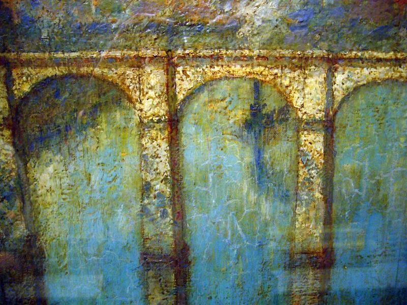 Високий міст  друк на полотні, натягнут Рангер Генрі Уорд - фото 1