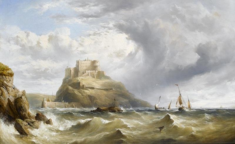Mount Orgueil Castle, Jersey  печать на холсте, натянут Тейлор Генри Кинг - фото 1
