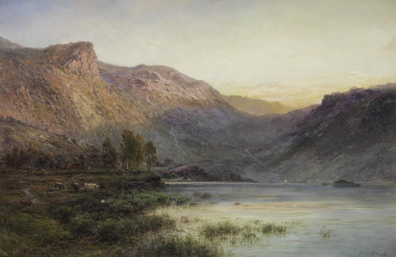 Glen Sheil The Eagle Rock (Loch Lomond)  друк на полотні, натягнут Брінські Альфред де - фото 1