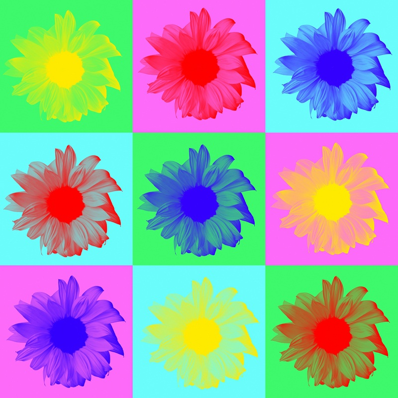 Цветочная композиция  печать на холсте, натянут UkrainArt - фото 1