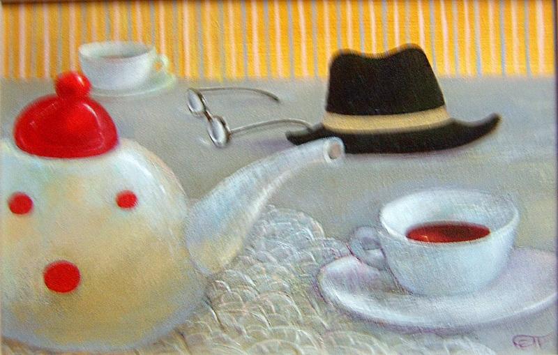 Английский завтрак  холст, масло Падовская Ольга - фото 1