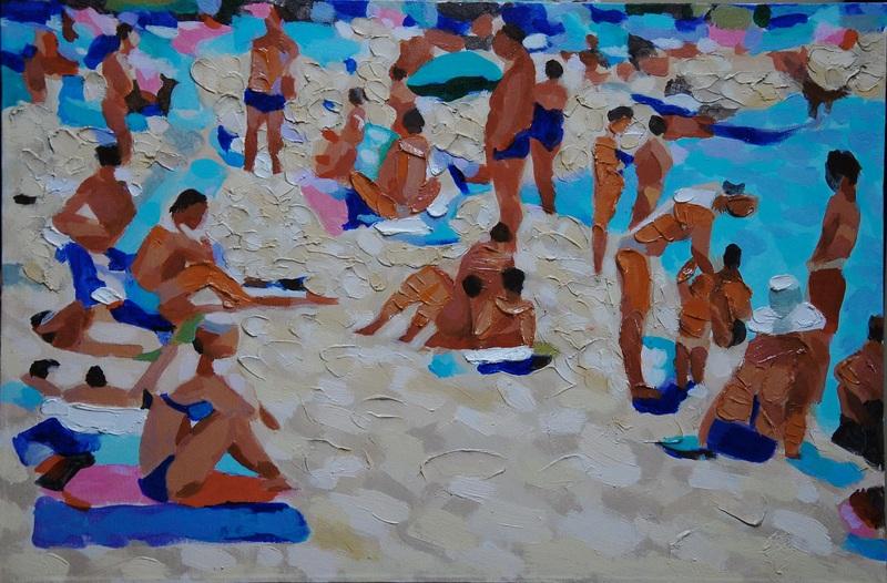 Пляж  холст, акрил Грицик Марта - фото 1