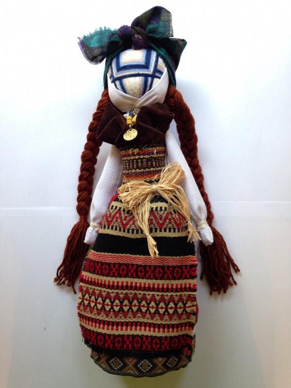 Кукла-мотанка №8  Ткани, нитки для вышивани Мазурок Елена - фото 1