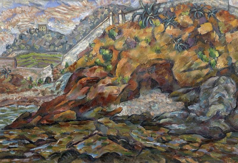 Вид около крепости  печать на холсте, натянут Баранов-Россине Владимир - фото 1